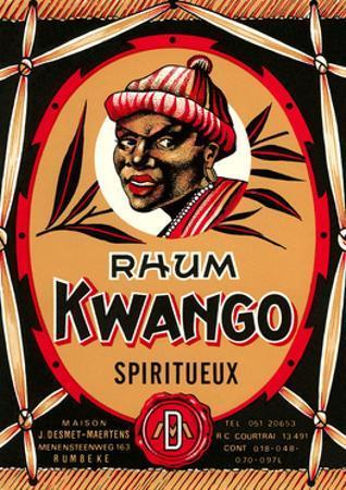 Rhum Kwango Label