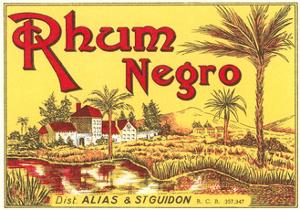 Rhum Negro Label