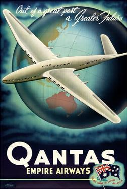 Out of a Great Past, a Greater Future - Qantas Empire Airways (QEA) by Rhys Williams