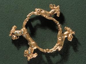 1st Century Gold Sarmatian Bracelet by Ria Novosti