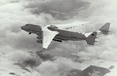 Antonov An-225 In Flight, World's Largest 'plane by Ria Novosti