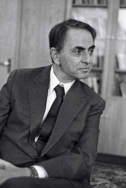 Carl Sagan, US Astronomer by Ria Novosti