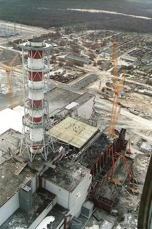 Chernobyl Reactor Clear-up
