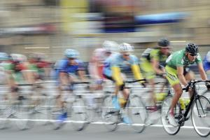 Cyclists In a Race by Ria Novosti
