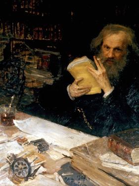 Dmitri Mendeleev, Russian Chemist by Ria Novosti