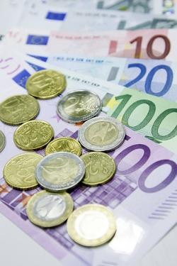 Euros In Notes And Coins by Ria Novosti