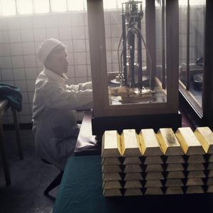 Gold Ingots by Ria Novosti