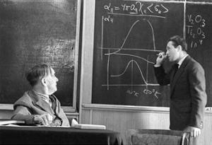 Kapitsa And Androv, Russian Physicists by Ria Novosti