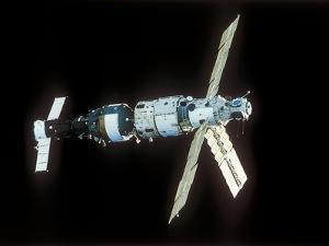 Mir Space Station by Ria Novosti