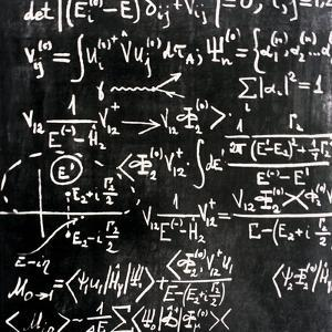 Particle Physics Equations by Ria Novosti