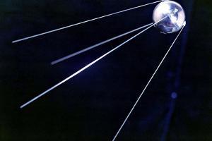Sputnik 1, Soviet Spacecraft by Ria Novosti