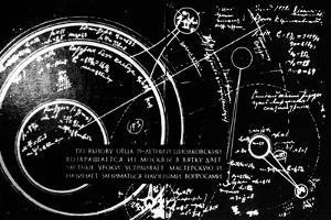 Tsiolkovsky's Works on Space Conquest by Ria Novosti