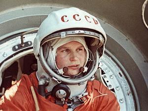 Valentina Tereshkova by Ria Novosti