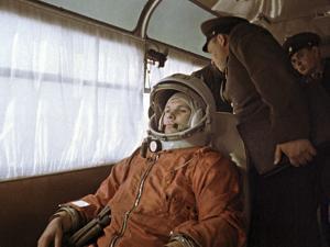 Yuri Gagarin Before Launch, 1961 by Ria Novosti