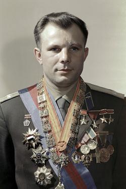 Yuri Gagarin, Soviet Cosmonaut by Ria Novosti
