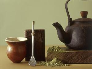 Utensils for Chimarrao: Silver Straw, Infusing Bowl by Ricardo De Vicq De Cumptich