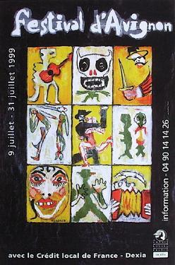 Festival D'Avignon 1999 by Ricardo Mosner