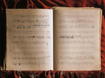 Autograph Music Score of Conchita