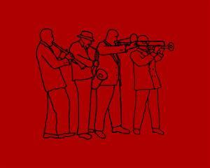 Brass Band New Orleans Style by Rich LaPenna