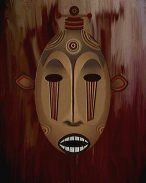 Ceremonial Mask by Rich LaPenna
