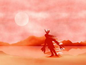 Native American Sun Dancer by Rich LaPenna