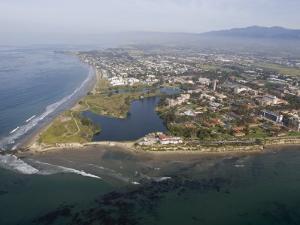 Campus Point and Campus Lagoon at Uc Santa Barbara in Goleta, California by Rich Reid