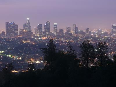 Dawn in Los Angeles from the Griffith Observatory by Rich Reid