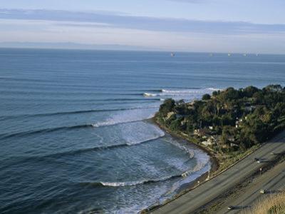 Epic Winter Surf Hitting Rincon Point