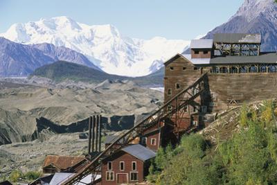 Mount Blackburn Looms Above Kennicott Mines by Rich Reid