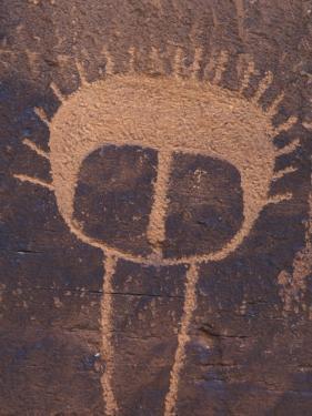 Petroglyph Closeup, Utah by Rich Reid