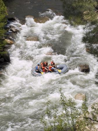 Rafting on the Upper Kern River, Sequoia National Forest, California
