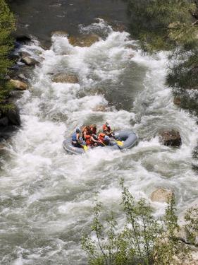 Rafting on the Upper Kern River, Sequoia National Forest, California by Rich Reid