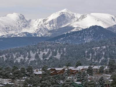 Rocky Mountain National Park from the Stanley Hotel in Estes Park