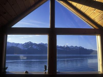 Sunrise over Resurrection Bay from Salt Water Lodge, Alaska
