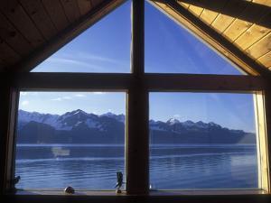 Sunrise over Resurrection Bay from Salt Water Lodge, Alaska by Rich Reid