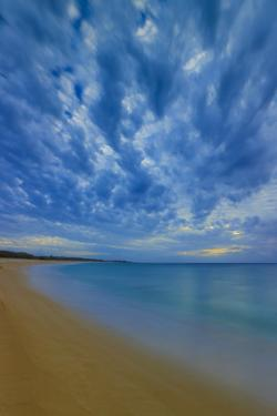 After Sunset at Papohaku Beach, West End, Molokai, Hawaii by Richard A Cooke III