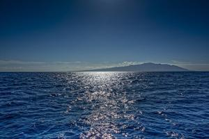 Ocean Reflection Looking Back at Maui, Hawaii by Richard A Cooke III