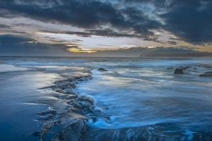 Shoreline Low Tide Sunrise, from Kaehu Point, Mo'Omomi Preserve, Nature Conservancy by Richard A Cooke III