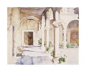 Sun-Drenched Cloisters by Richard Akerman