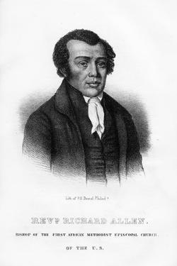 Richard Allen, African American Founder of the African Methodist Episcopal Church