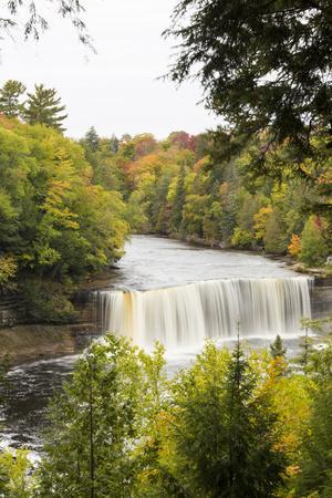 Tahquamenon Falls in Fall, Chippewa County, Mi