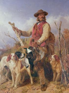 Gamekeeper with Dogs by Richard Ansdell