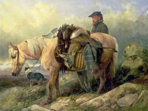 Returning from the Hill, 1868 by Richard Ansdell