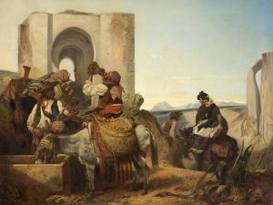 Ronda, Spanish Travellers, 1864 by Richard Ansdell