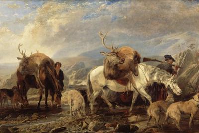 The Deer Stalker's Return, 1846