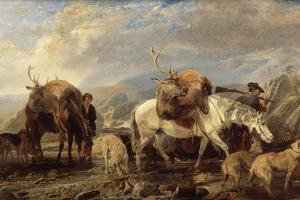 The Deer Stalker's Return, 1846 by Richard Ansdell