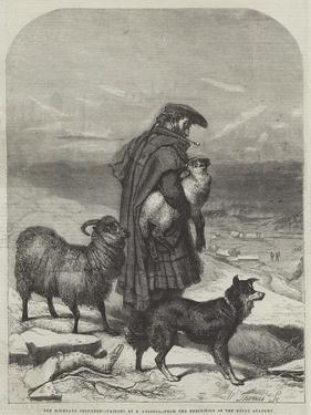 The Highland Shepherd by Richard Ansdell