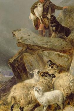 The Rescue, 1883 by Richard Ansdell