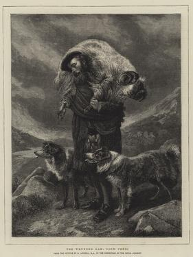 The Wounded Ram, Loch Freig by Richard Ansdell