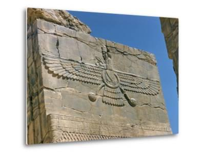 Ahura Mazda, Supreme God in Zoroastrianism, Persepolis, Unesco World Heritage Site, Iran by Richard Ashworth